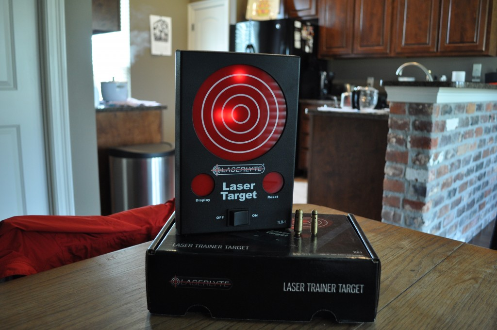 Gear Review: LaserLyte Laser Trainer Target TLB-1